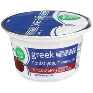 Black Cherry Greek Nonfat Yogurt, Fruit On The Bottom