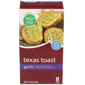 Texas Toast,  Garlic