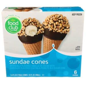 Sundae Cones