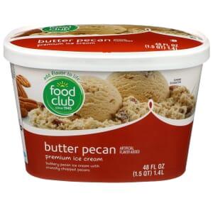 Butter Pecan Premium Ice Cream
