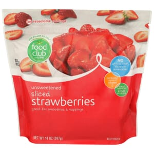 Strawberries - Sliced, Unsweetened