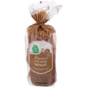 100% Whole Wheat Bread, Old Fashioned