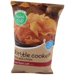 Barbecue Potato Chips, Kettle Cooked