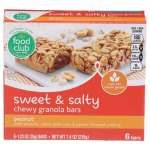 Peanut Sweet & Salty Chewy Granola Bars