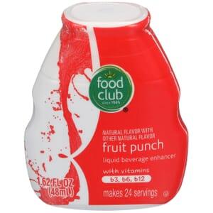 Fruit Punch Liquid Beverage Enhancer
