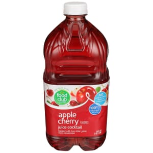 Apple Cherry Flavored Juice Cocktail