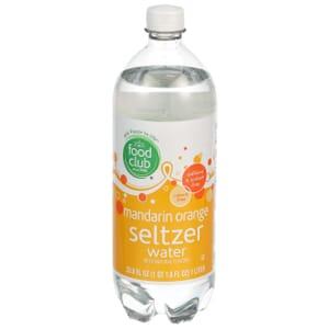 Mandarin Orange Seltzer Water