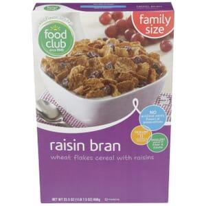 Raisin Bran Cereal
