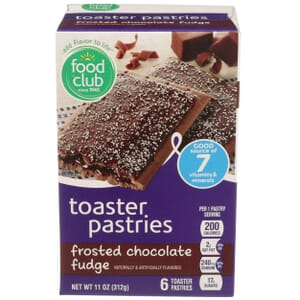 Frosted Chocolate Fudge Toaster Pastries