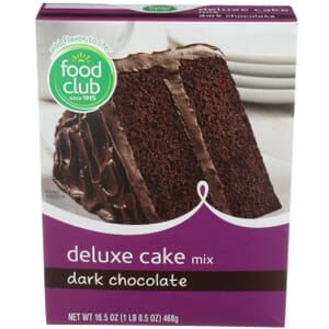 Dark Chocolate Deluxe Cake Mix