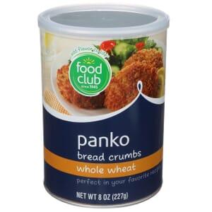 Panko Bread Crumbs, Whole Wheat
