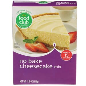 Cheesecake Mix, No Bake