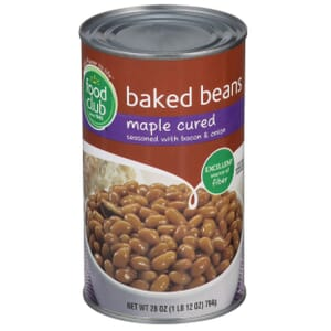 Baked Beans, Maple Cured