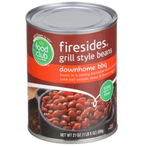 Firesides, Grill Style Beans, Downhome BBQ