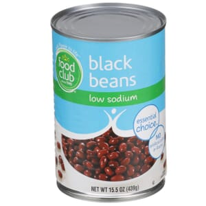 Black Beans - Low Sodium
