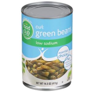 Cut Green Beans - Low Sodium
