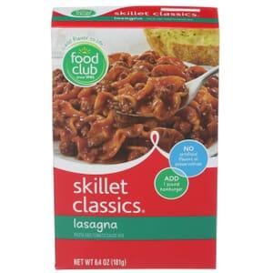 Skillet Classics,  Lasagna