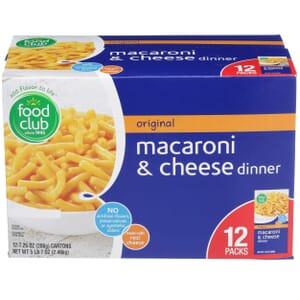 Original Macaroni & Cheese Dinner