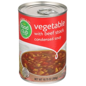 Vegetable With Beef Stock, Condensed Soup