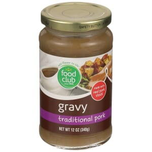 Traditional Pork Gravy