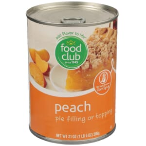 Peach Pie Filling Or Topping
