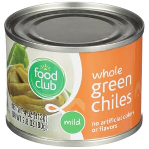 Green Chiles - Whole, Mild