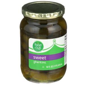 Sweet Gherkins Pickles