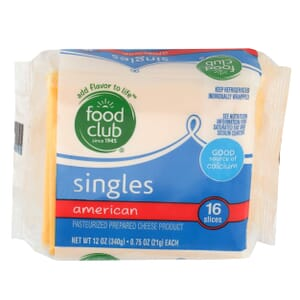 Singles, American Cheese