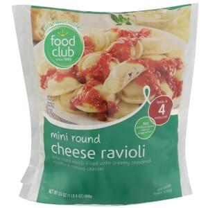 Mini Round Cheese Ravioli