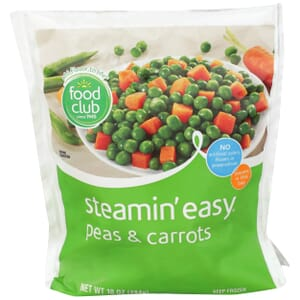 Steamin' Easy, Peas & Carrots