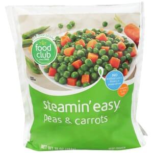 Steamin' Easy, Peas & Carrots