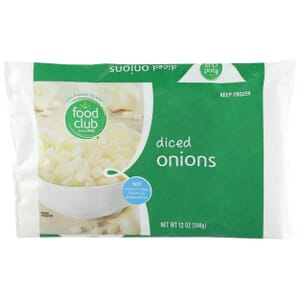 Onions, Diced