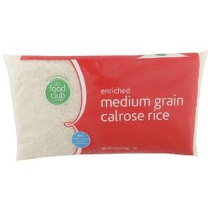Enriched Medium Grain Calrose Rice