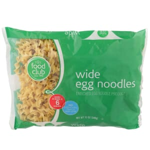 Wide Egg Noodles Pasta