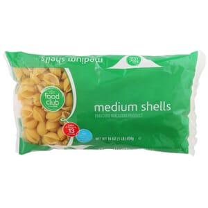 Medium Shells Pasta