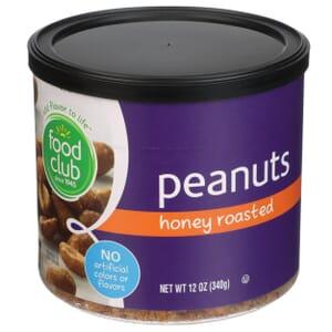 Peanuts, Honey Roasted