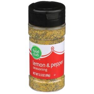 Lemon & Pepper Seasoning