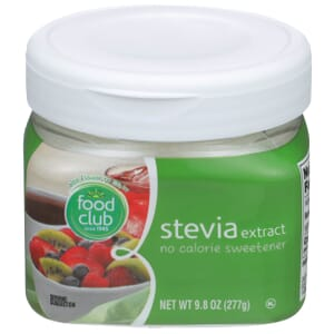 Stevia Extract, No Calorie Sweetener
