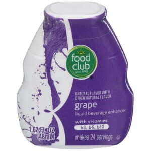 Grape Liquid Beverage Enhancer