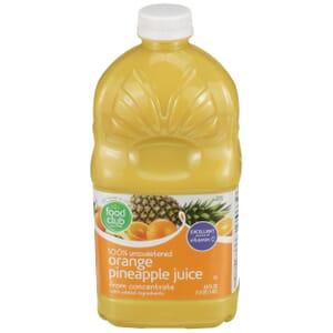 100% Unsweetened Orange Pineapple Juice