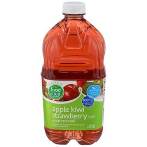 Apple Kiwi Strawberry Flavored Juice Cocktail