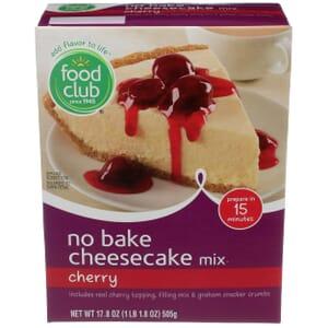Cherry Cheesecake Mix, No Bake