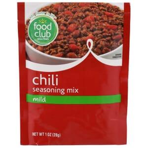 Chili Seasoning Mix, Mild