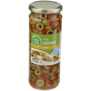 Salad Olives, Sliced