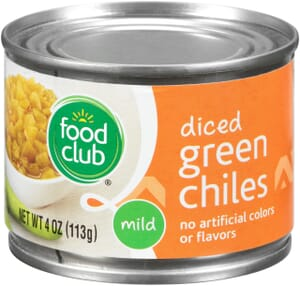 Green Chiles - Diced, Mild