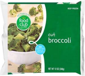 Broccoli, Cut