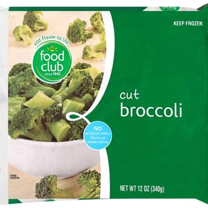 Broccoli, Cut