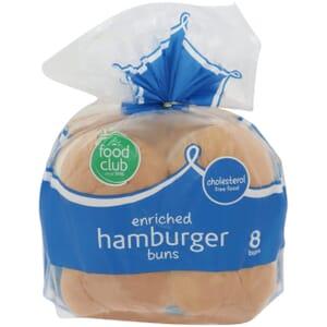Hamburger Buns, Enriched