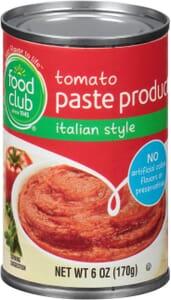 Tomato Paste Product, Italian Style
