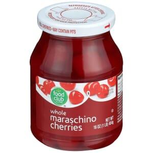 Maraschino Cherries, Whole